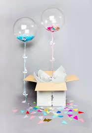 balloon in a box balloon in a box bonbon balloons