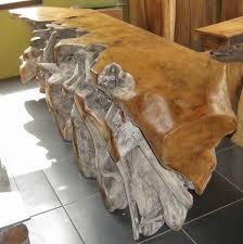 natural wood console table natural wood sofa table design 15 urdezign lugar