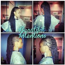 pictures of flat twist hairstyles for black women flat twist combo hairstyle for black girls hairstyles parlor