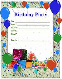 free birthday invitations free birthday party invitation templates songwol b5b100403f96