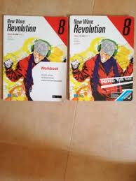 Fabuloso Livros escolares 8º ano - Inglês (New Wave Revolution) Torres  @MG62