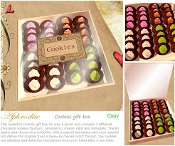 gift cookies second marketplace aphrodite cookies gift box boxed