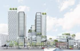 Map Of Toronto And New York by Honest Ed U0027s Mirvish Village Proposed Redevelopment Toronto And