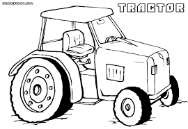 tractor coloring pages coloring pages download print