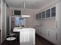 kitchen exciting white small kitchen ideas with beige wallpaper