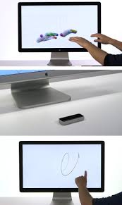 Tech Computer Desk Kiss Your Keyboard And Mouse Goodbye With The Leap Also Wondrous