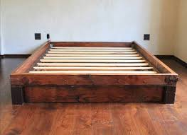 Platform Bed Wood Reclaimed Wood Bed Design Ideas Pinterest Reclaimed Wood