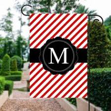 Patriotic Garden Decor Monogram 4th Of July Flag Red White And Blue Flag Fourth Of