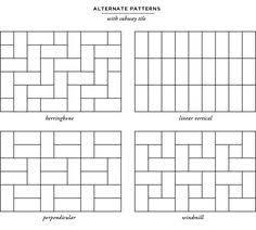 Subway Tile Designs For Backsplash by Tonalite 20 Creative Ways To Lay 4