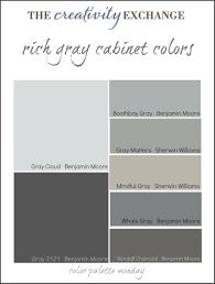 grey colors gorgeous gray cabinet paint colors