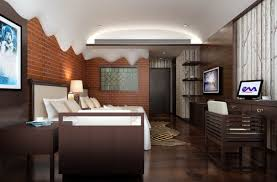 bedroom awesome grey brown wood glass modern boys room paint
