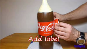 coca cola chocolate bottle cake 13 steps with pictures