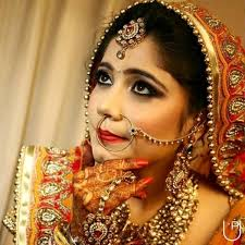 hindi type vail bridal makeup