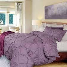 Purple Home Decor Home Decor Appealing Light Purple Duvet Cover Plus Pintuck Cover