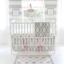 Pink And Gray Crib Bedding Pink Crib Bedding You Ll Wayfair