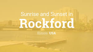 Rockford Zip Code Map by Sunrise And Sunset Times In Rockford