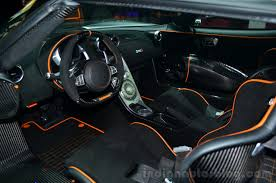 koenigsegg one koenigsegg one 1 cabin at geneva motor show indian autos blog