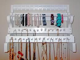 necklace holder diy images Necklace holder diy better jewelry organizer luxury busla jpg