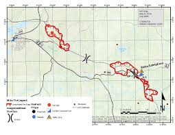 Wildfire Map National by Large U0027 Wildfire Burning On Superior National Forest Quetico