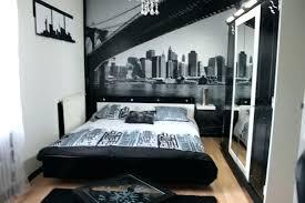 chambre a coucher noir et gris chambre noir blanc peinture blanche chambre un intacrieur tout en