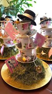 Mad Hatter Tea Party Centerpieces by Alice In Wonderland Top Hats By Lletshaveaparty On Etsy