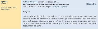 transcription mariage nantes transcription d un mariage franco camerounais page 4 mariage