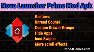 hide apps apk launcher prime mod apk gestures unread counts hide apps