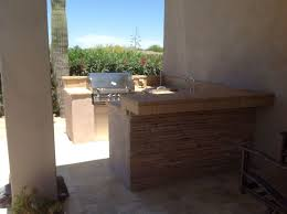 Outdoor Kitchen Patio Ideas Small Outdoor Kitchen Spaces Great Phoenix Patio Design Desert