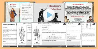 drama activity lesson teaching pack boudicca history