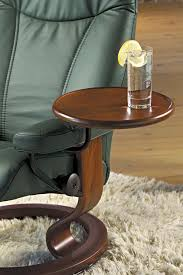 side table for recliner chair stressless swing table by ekornes functional furniture