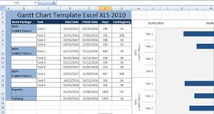 creating gantt chart template excel xls 2010 free excel