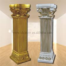 Roman Home Decor Frp Decoration Roman Column Pillar Pu Roman Column Home Decor