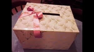 wedding gift card box diy how can i make a wedding gift card box