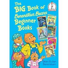 berestein bears the big book of berenstain bears beginner books walmart
