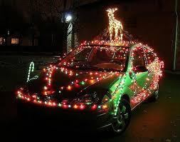 fa la la la festive lights on cars to brighten your