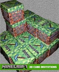 free printable minecraft birthday card minecraft birthday card