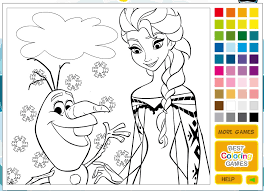 coloring pages cute princess painting games disney coloring