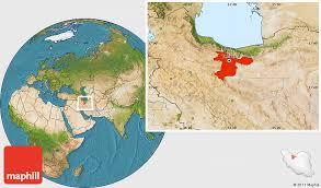 tehran satellite map satellite location map of tehran