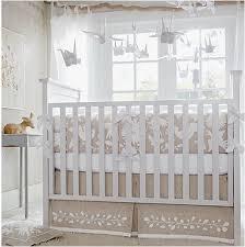 Crib Bedding Neutral Furniture Silver Gray Arrow Crib Bedding Large Glamorous Neutral