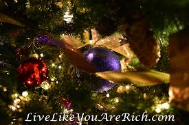 tree ornament guide live like you are rich