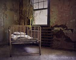 Photography Home Decor Dark Haunted Decay Photography Abandoned Forgotten Bed Dark