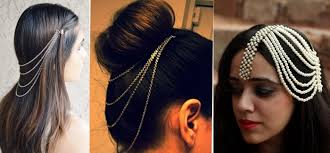 hair chains trending hair chains side mathapattis wedmegood
