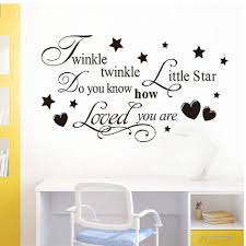 Decoration Star Wall Decals Home by Online Get Cheap Twinkle Star Song Aliexpress Com Alibaba Group