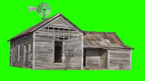 old house green screen royalty free footage youtube