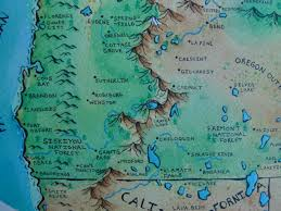 Lakeview Oregon Map by Oregon Fantasy Map Album On Imgur
