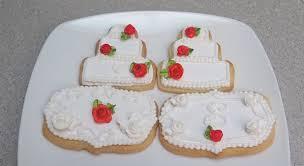 Wedding Cake Cookies Red Rose Wedding Cake Cookies Mbalaska 8 20 2016 Cakecentral Com