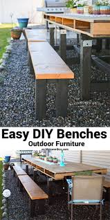 easy diy benches outdoor furniture kleinworth u0026 co