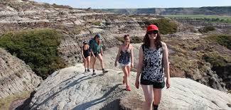 Bad Lands Hiking Travel Drumheller