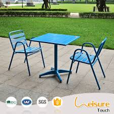 Patio Furniture Table And Chairs Set - outdoor aluminum chairs restaurant table and chair sets