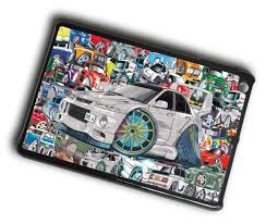 mitsubishi sticker design koolart sticker bomb style design for retro mitsubishi evo 6 case